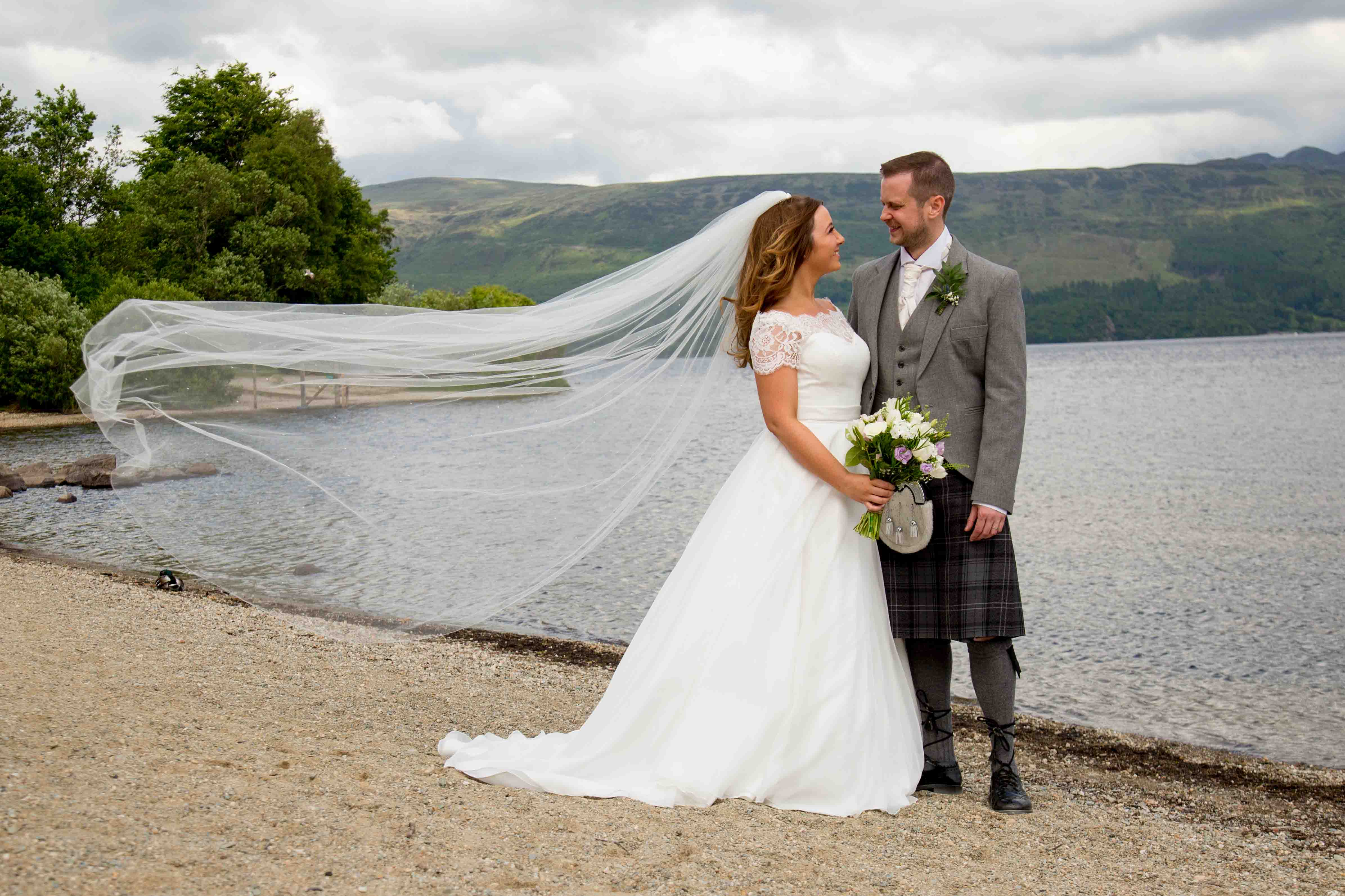 4lovepolkadots real wedding share
