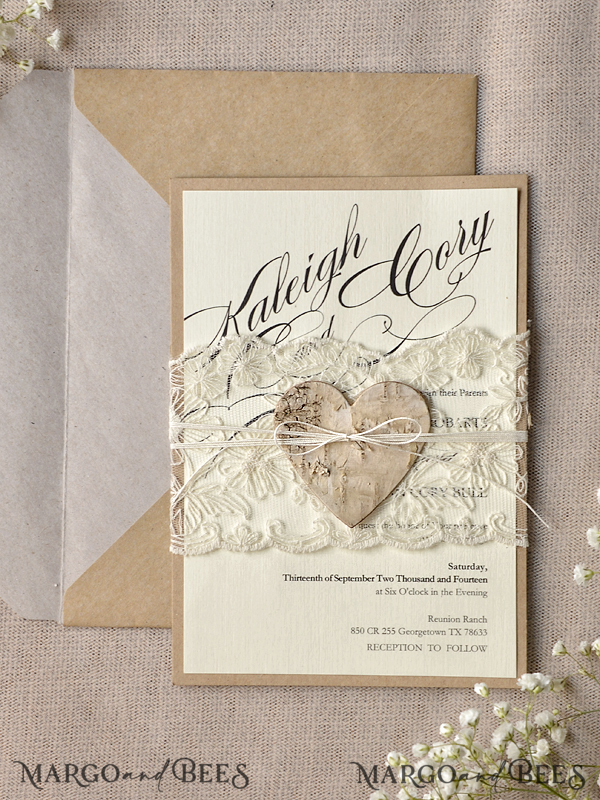 Custom Order - 60 Invitations Printed in German for Kristen Schlarb