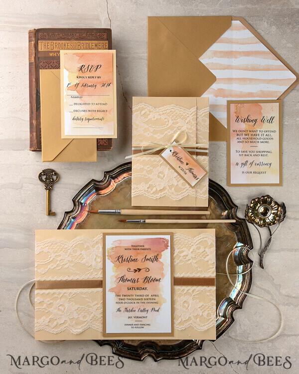 Custom Order - 70 Invitations for Sarah M