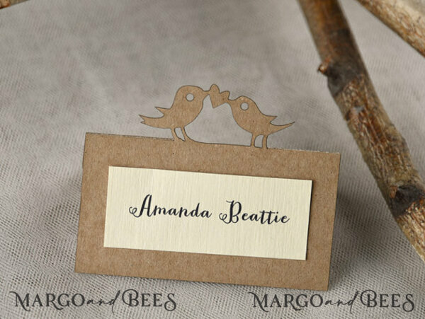 Custom Order - 20 Invitations with Additional Card 35 Place Cards for Teresa Niemandt