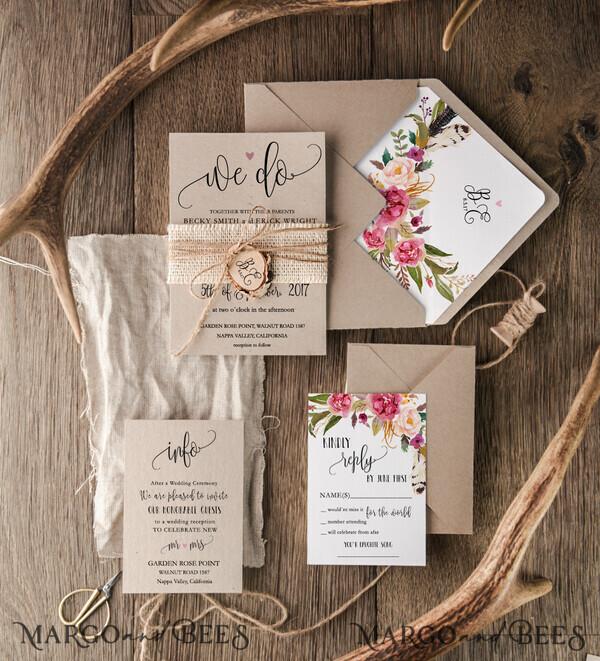 Custom Order 45 Wedding Invitations 003/BCCs/z for Michelle Camp