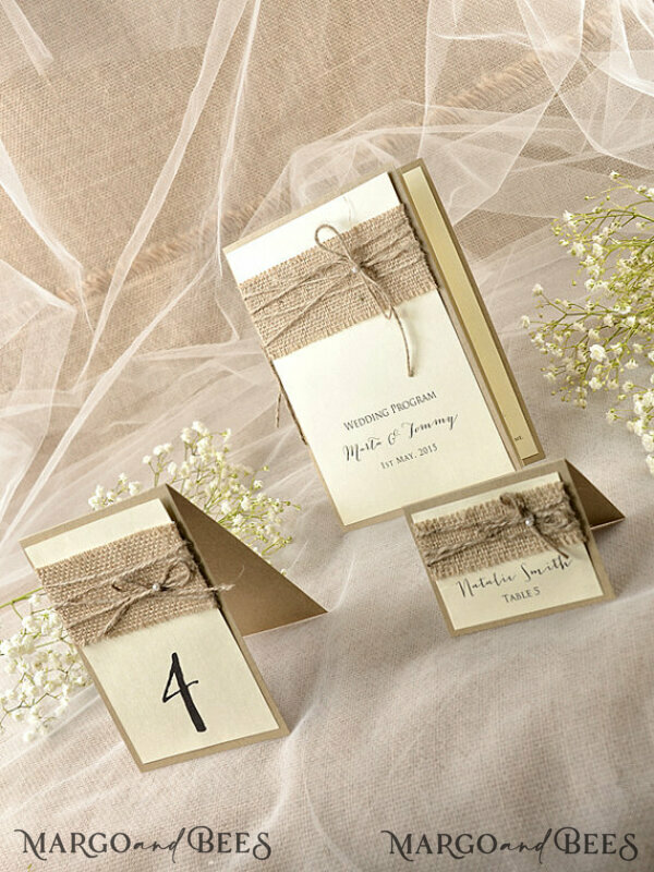 Custom listing 18 Menu Cards & 8 Blank Table Numbers for Eliana