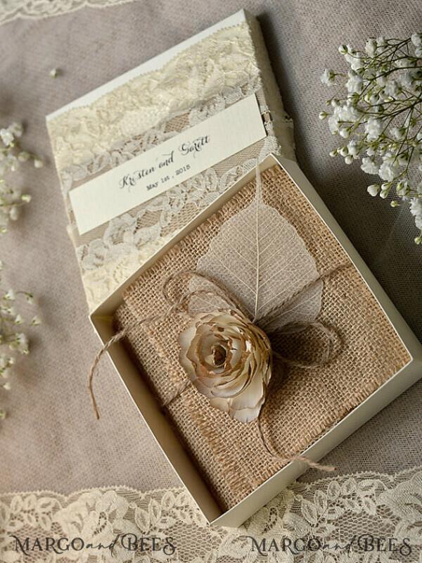 Custom Order 100 Box Wedding Invitations for Katerina Zissios