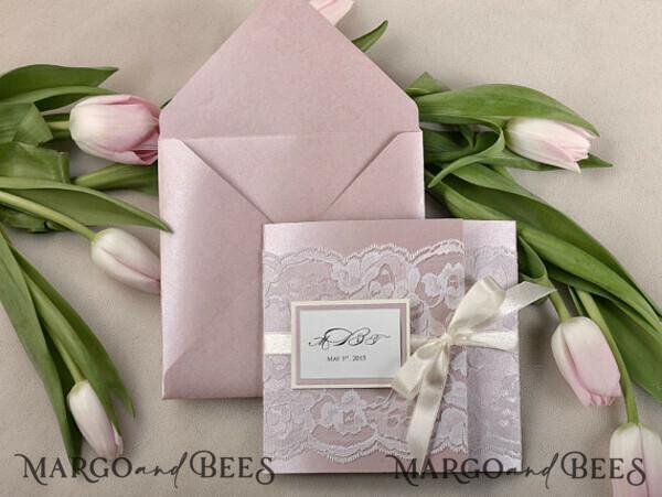Custom order 140 Wedding Invitations 10/laceW/z for Karley Mannino