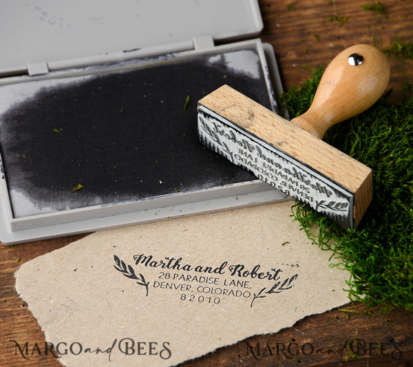 Additional items for Aisling Sheehan wood stamp and ring bearer pillow