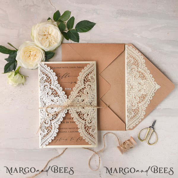 20 sets 02/lCN/z Invitation & Envelope