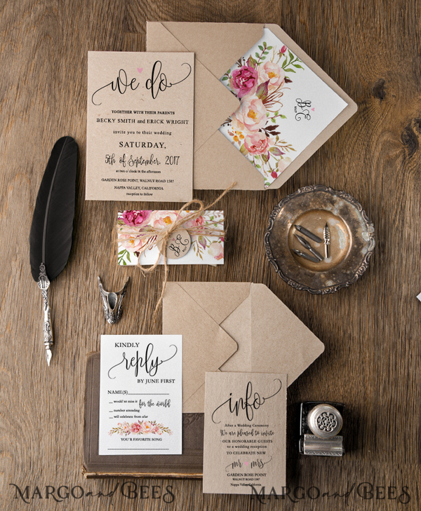 125 Wedding Invitations /customNeha/ for Ms Neha Patel
