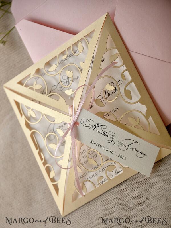 91 Invitations 01/LcutP/z with addressing envelopes