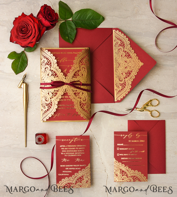 125 Wedding Invitations /customgnlaser/ for Aashna Satija