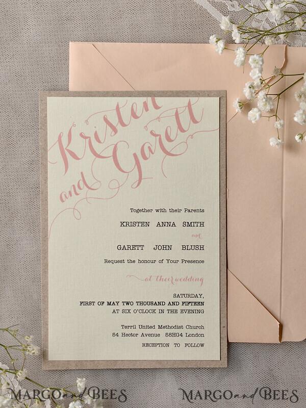 Custom order - 5 main invitation cards for Francesca Howell 7385