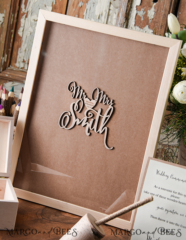 Custom order - alternative guest book for Katie Chaves 8881