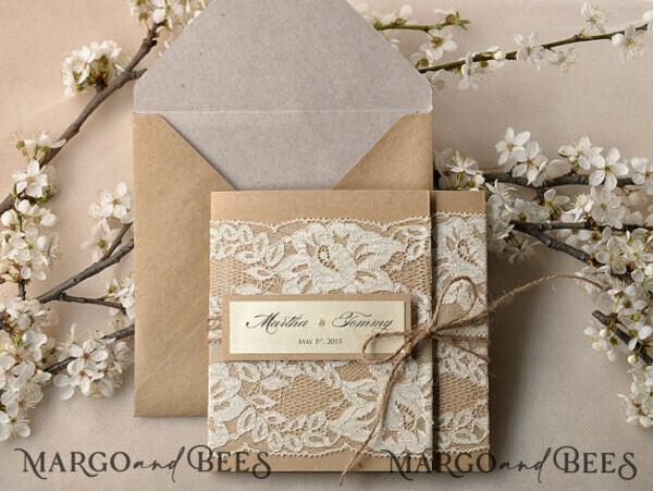 custom order - 5 invitations for Marly Colon 7199