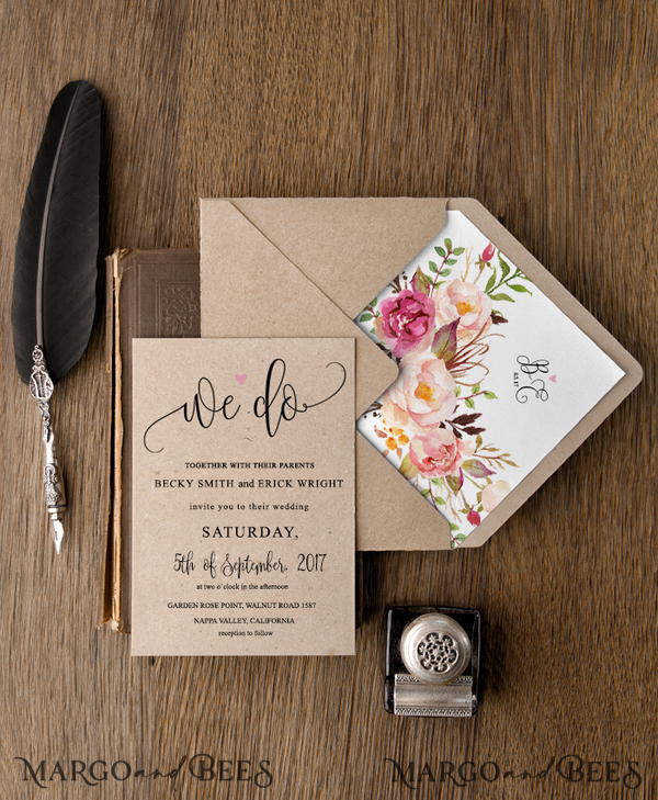 65 wedding invitations /cWcg1/ for Kelly Rassa