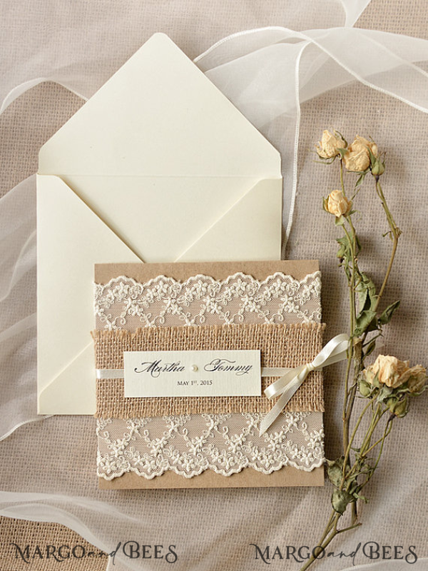 70 invitations and alternative guest book for Marlayna Burns