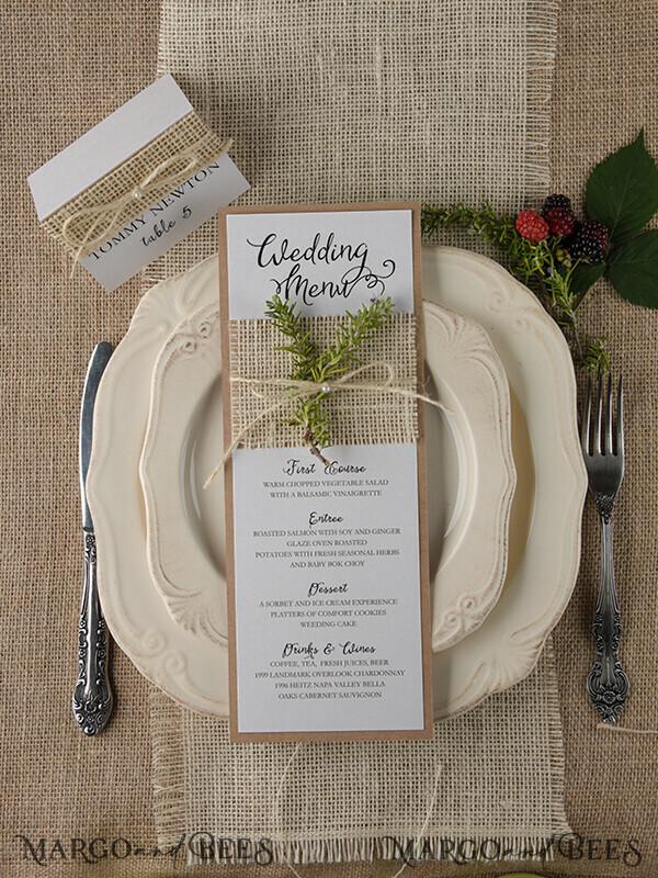 230 wedding menu for Mikel Truli 8239