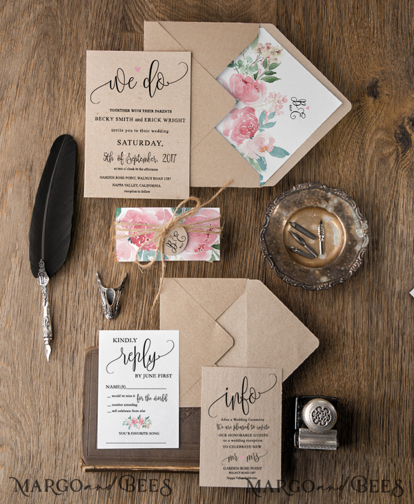 25 custom invitation sets for Fallon Dimaano 03/Wcgsl/IN
