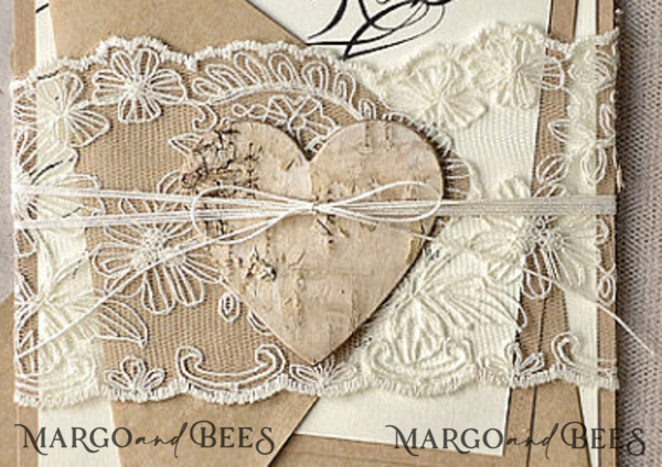 custom order for Lauren Schumacher lace, twine, hearts