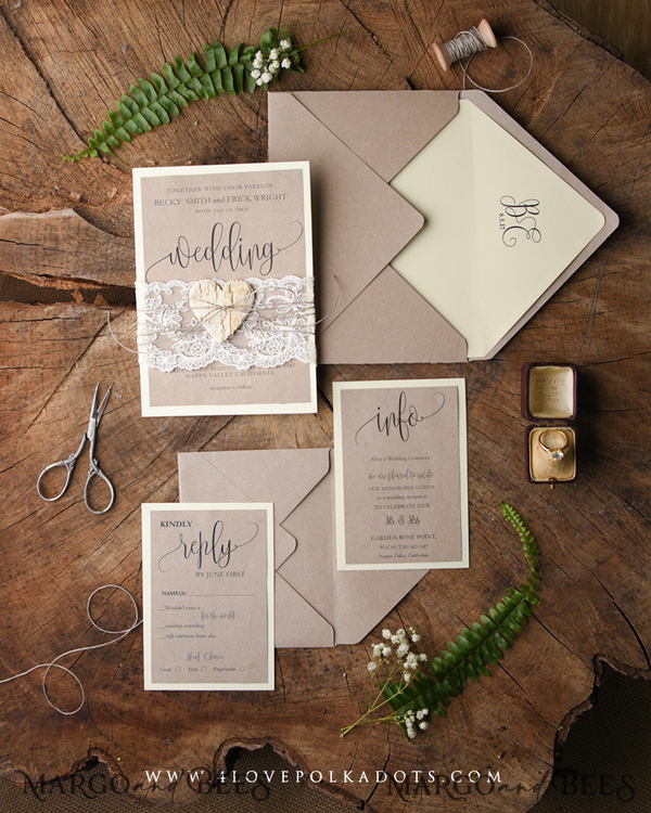 40 full invitation sets matched to std, guest book, 25 evening invitations for Mark Stubbs